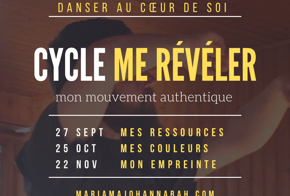 CYCLE ME RÉVÉLER • BESANÇON • 27 SEPT. 25 OCT. 22 NOV 2020